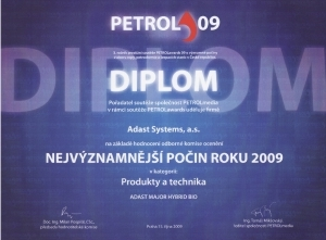 The most important achievement of 2009 - PETROLawards